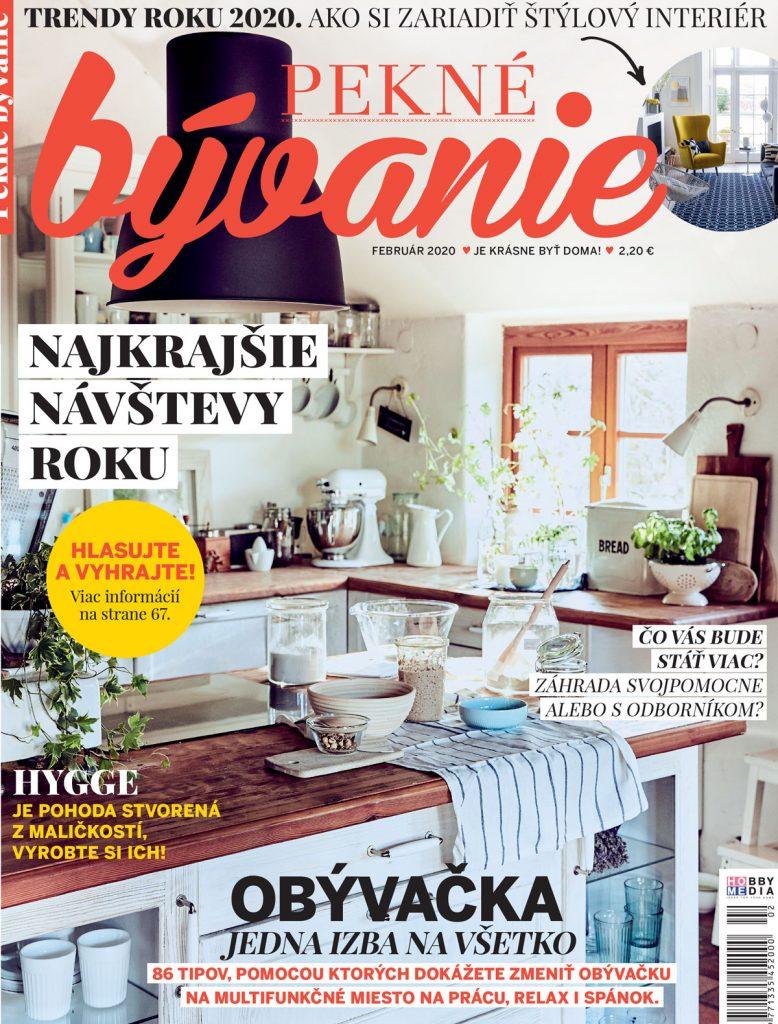 časopis Pekné bývanie február 2020