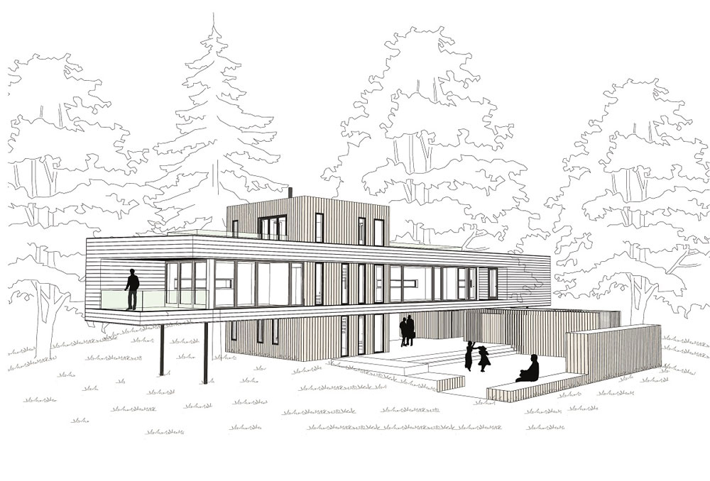 Vila navrhnutá architektom