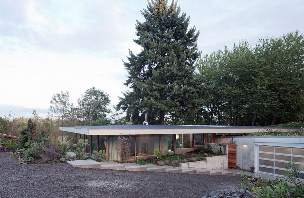 Presklený dom s výhľadom