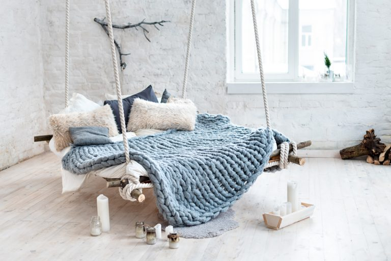 Trendy interiér v zime
