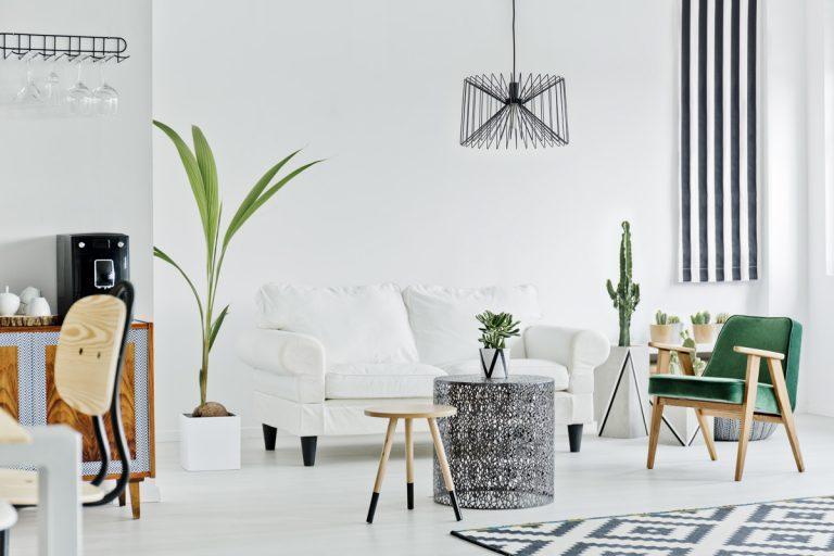Nadčasové zariadenie: Biela v interiéri
