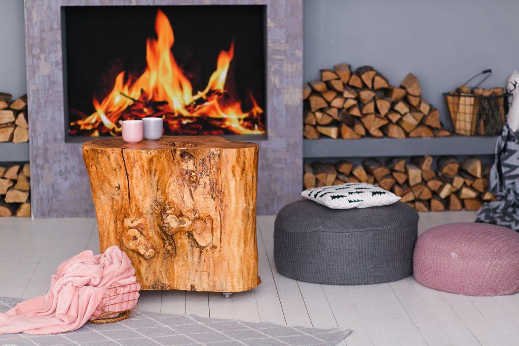 Uskladnenie dreva v domácnosti