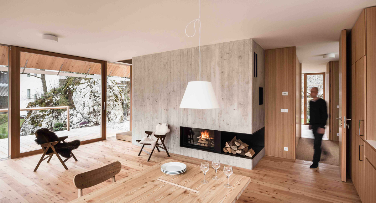 Drevo v interiéri