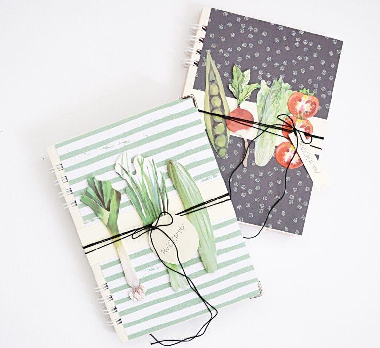 Vyrobte si vlastné zápisníky na recepty