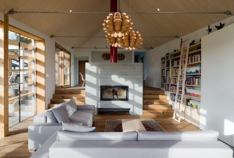 Dom pre krásne časy: Kombinácia romantiky a moderných materiálov