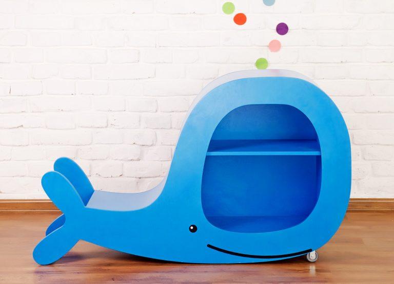 Multifunkčný detský nábytok s hravým dizajnom