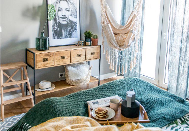 Moderný byt: Bývanie v škandinávskom štýle boho