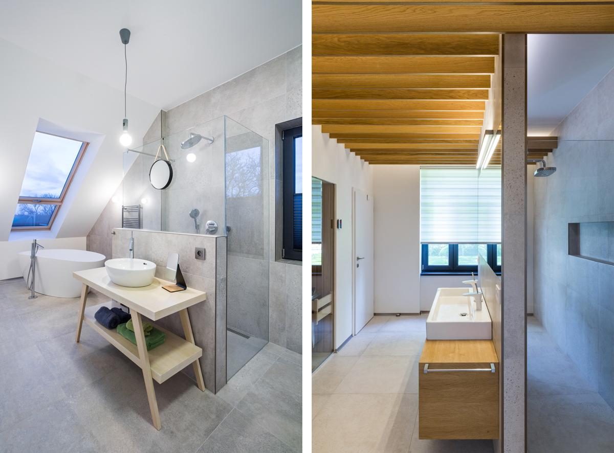 Kúpelňa so strešným oknom