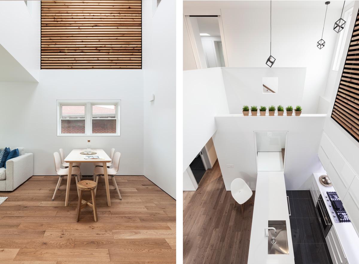 Moderný dom s cédrovým drevom