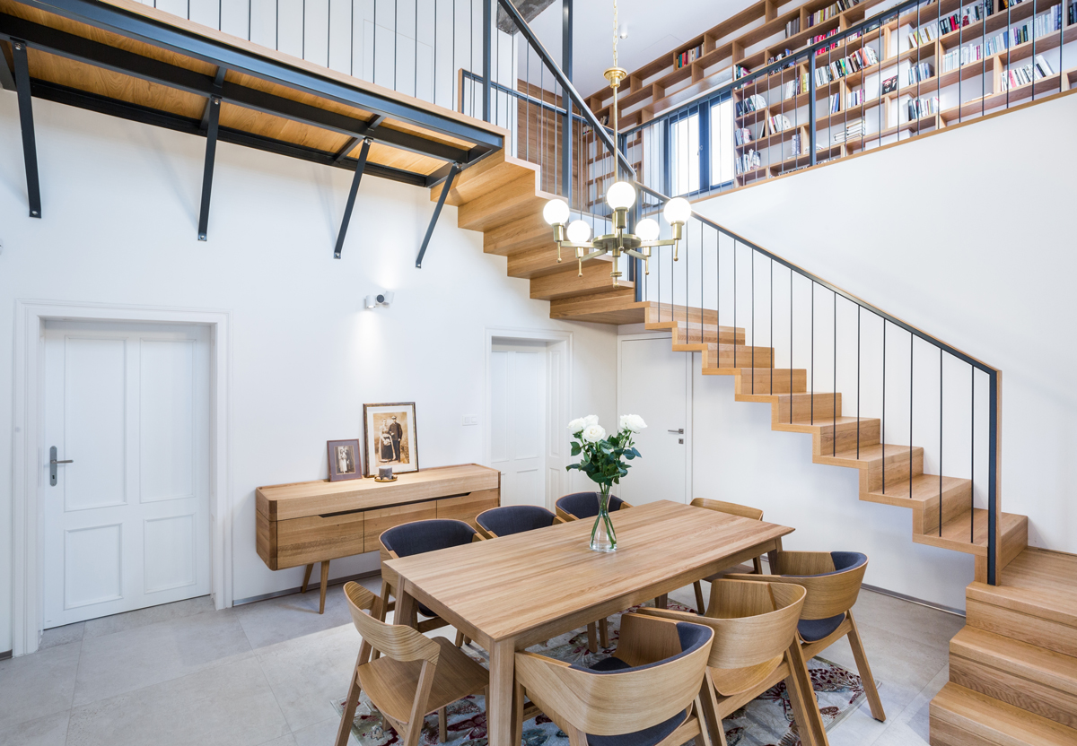 otvorené schodisko