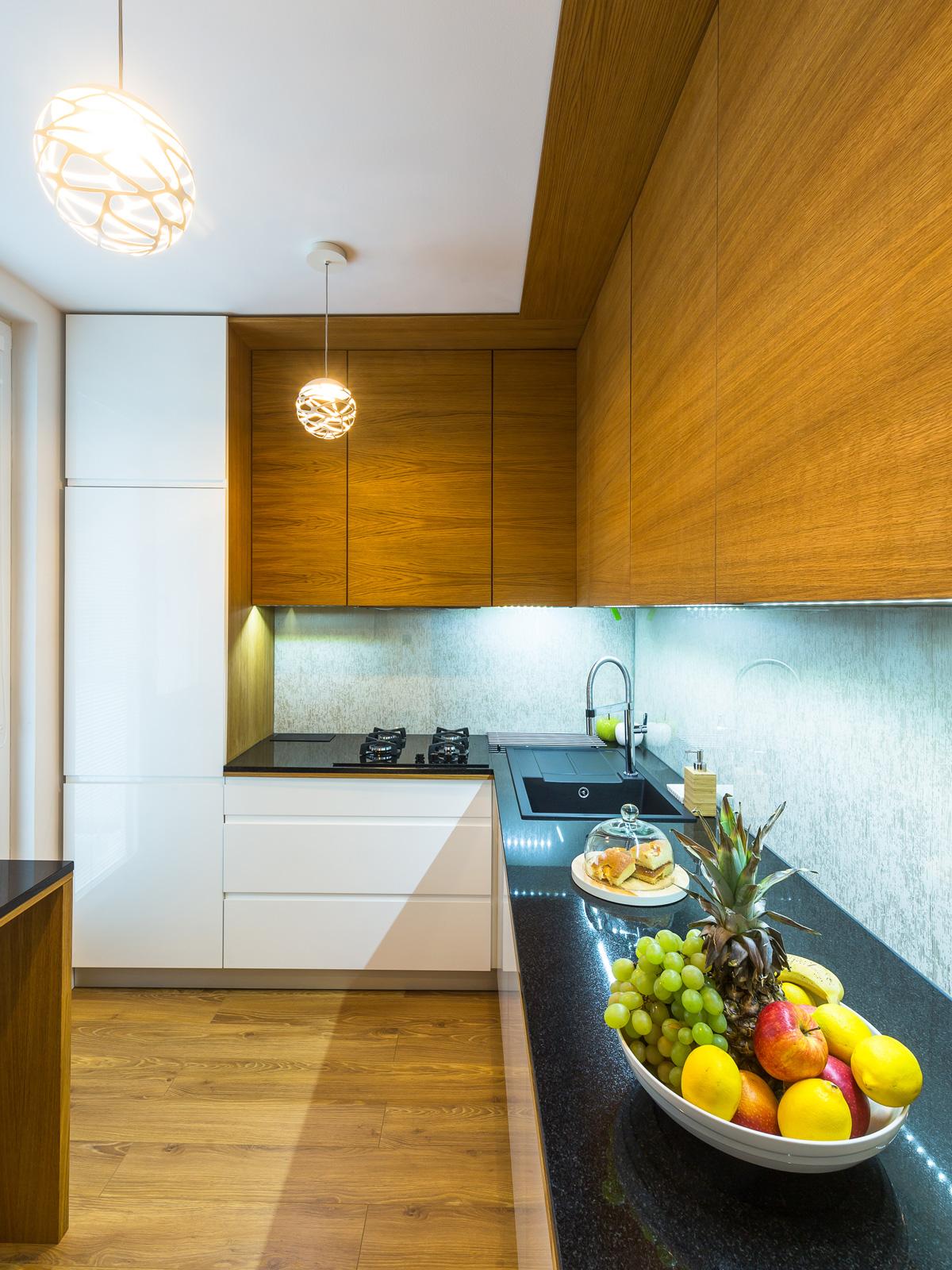 Kuchyňa v malom priestore