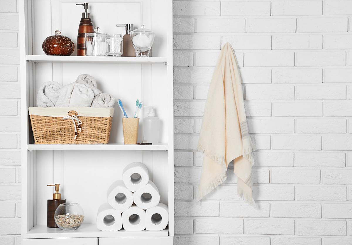 uteráky v kúpeľni