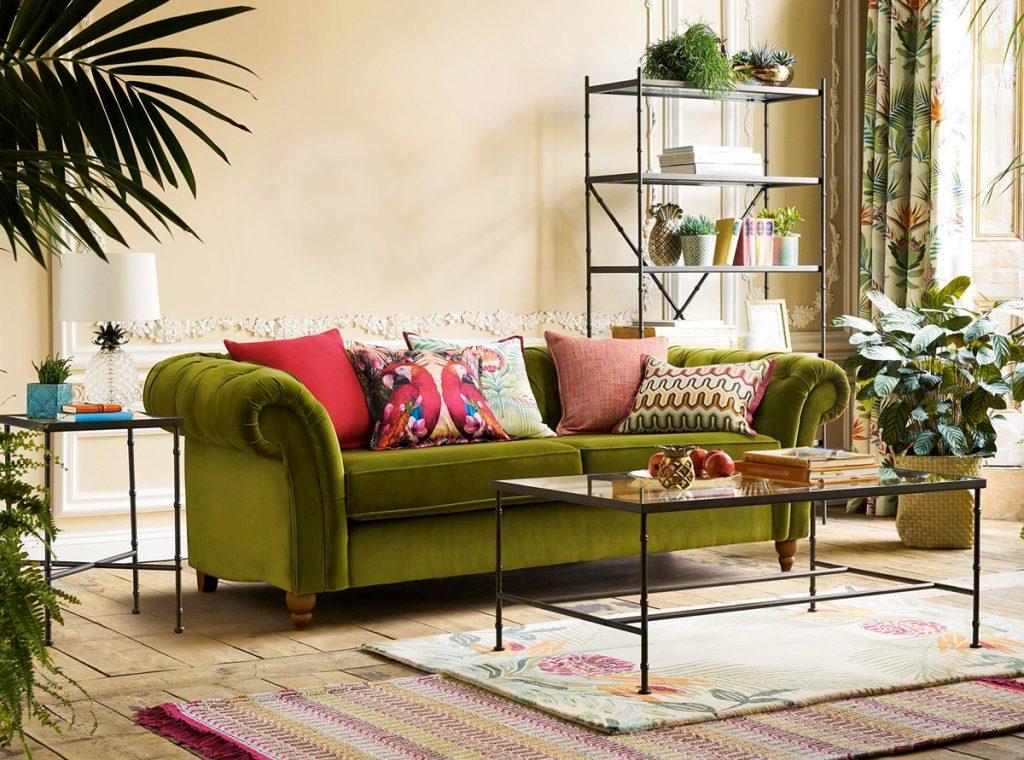 Zelené dekorácie: Ako vkusne zmeniť interiér pomocou rastlín