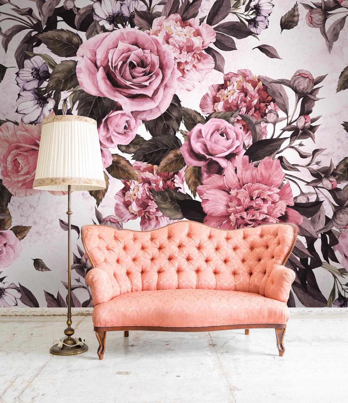 Kvetované tapety