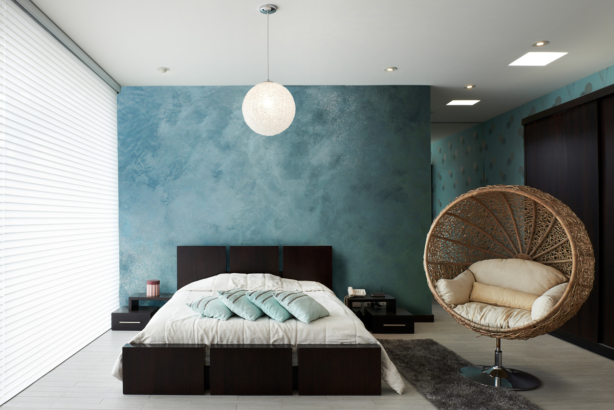 Modrá stena ako optická ilúzia