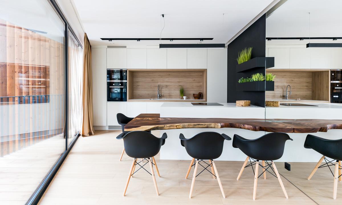 zladený interiér