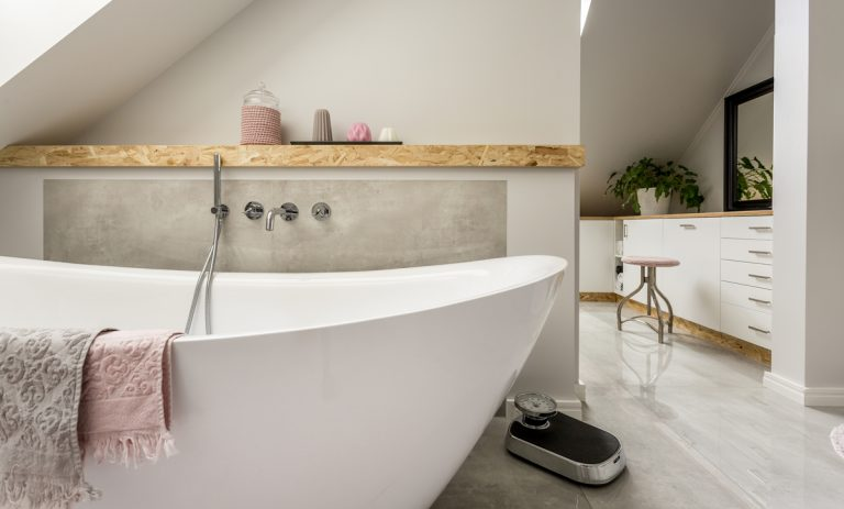Romantické doplnky do kúpeľne