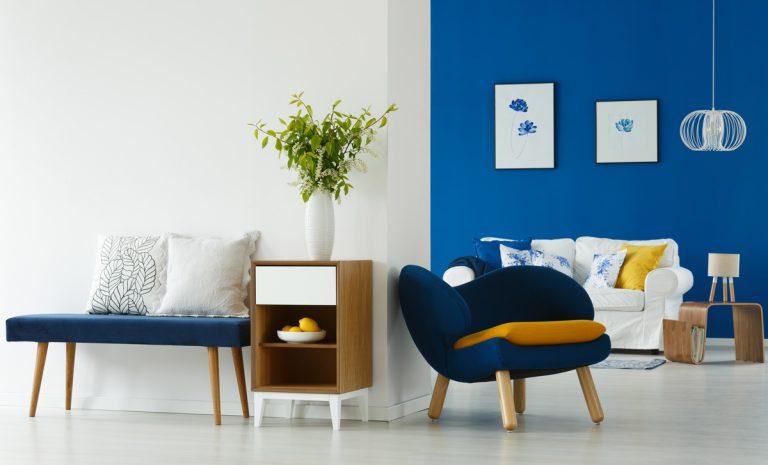 7 spôsobov ako využiť modrú v interiéri