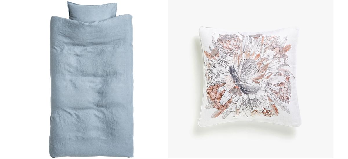 ľanová posteľná bielizeň