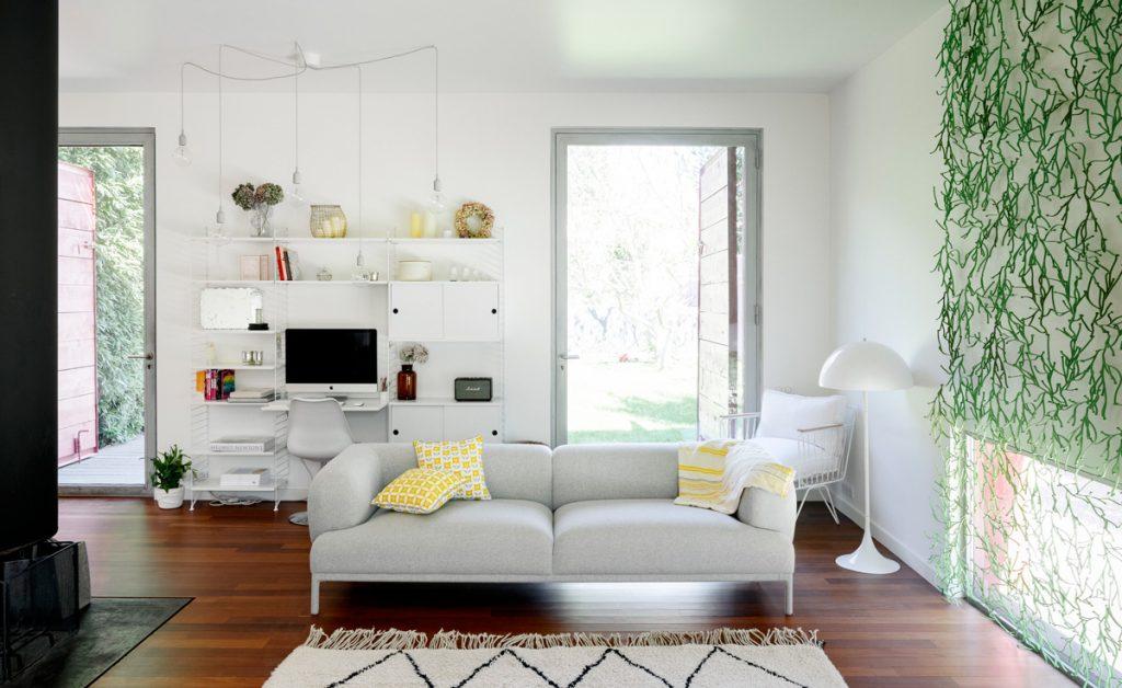 dom, ktorého vonkajšia architektúra harmonizuje s interiérom