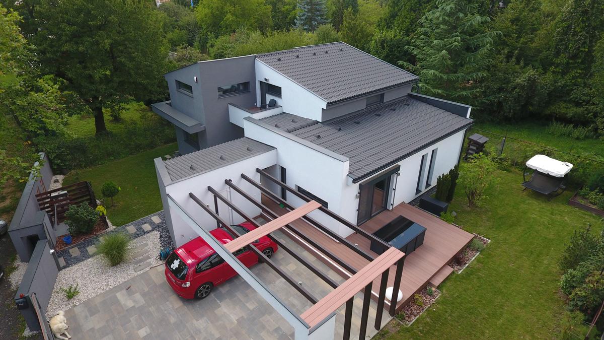 strechy s malým sklonom