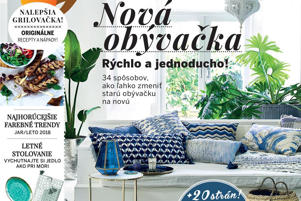 Najnovšie vydanie časopisu Pekné bývanie