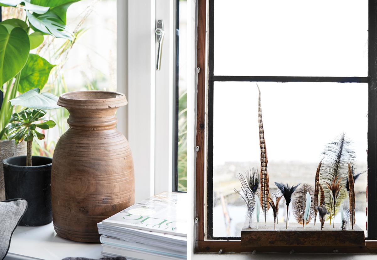keramika a pierka v interiéri