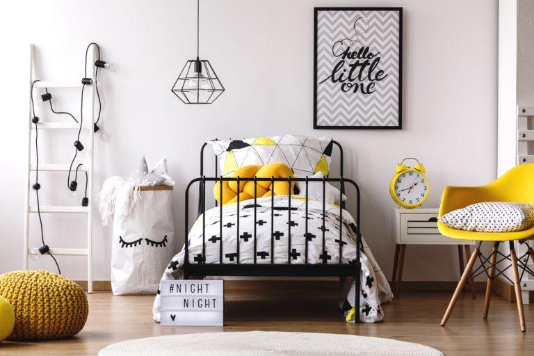 Ako zariadiť malú detskú izbu