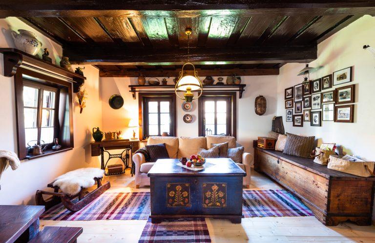 Zachránená storočná drevenica v podhorí Ďumbierskych Tatier