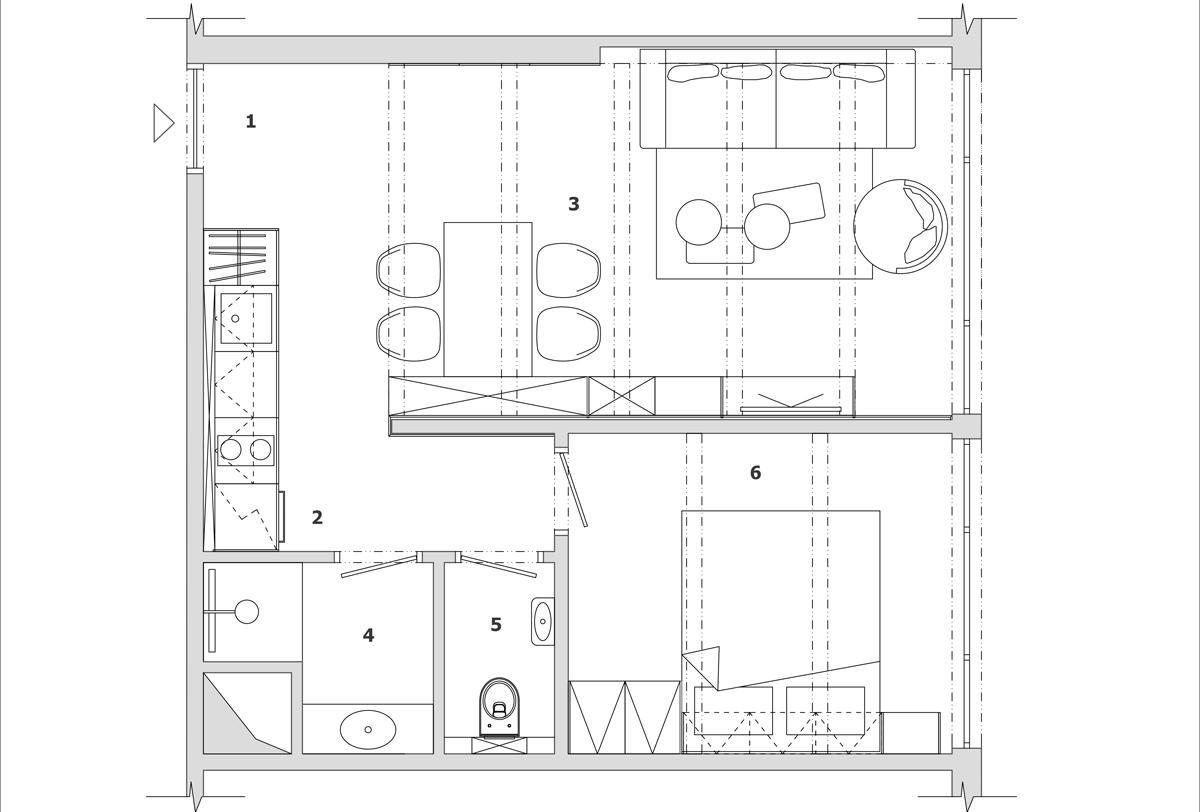 Dvojizbový apartmán v Starom Smokovci