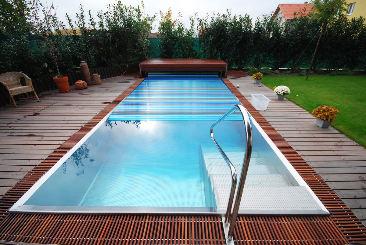 antikorový bazén