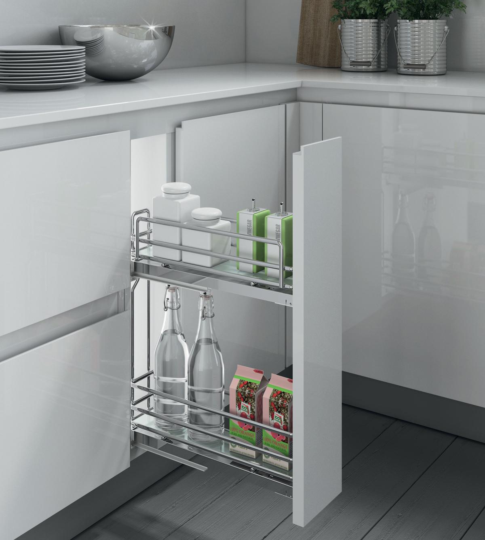 Výsuvné systémy do kuchyne