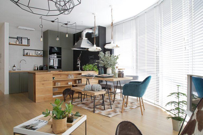 Mestský byt v škandinávskom štýle