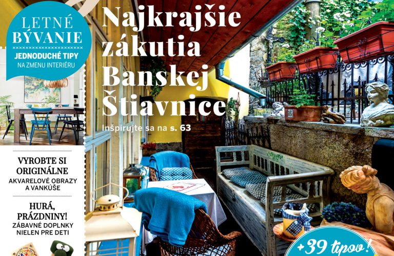 Pekné bývanie: Najkrajšie zákutia Banskej Štiavnice