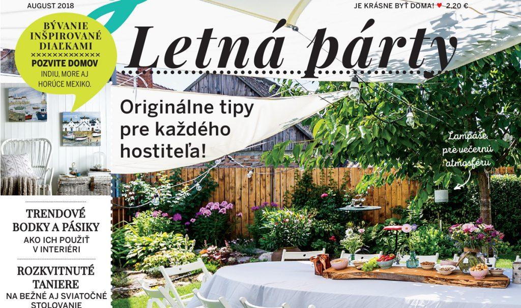 Pekné bývanie: Záhradná letná párty
