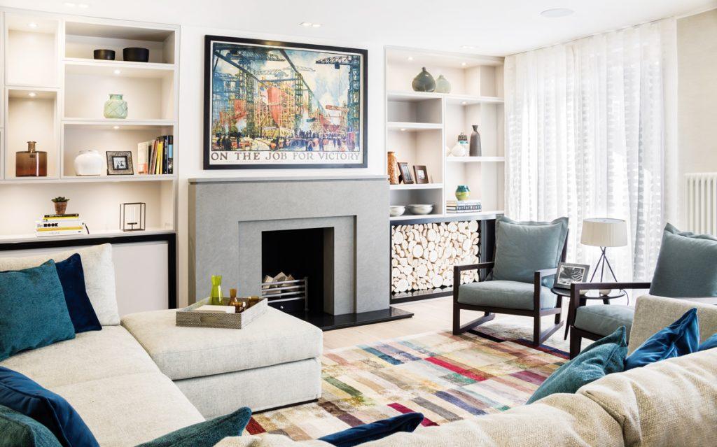 7 podlaží, 325 m² obytnej plochy. Londýnsky dom v štýle retro