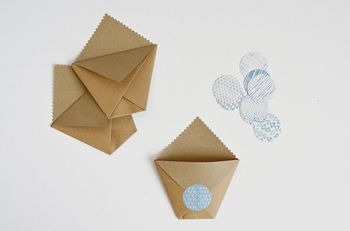 papierové taštičky