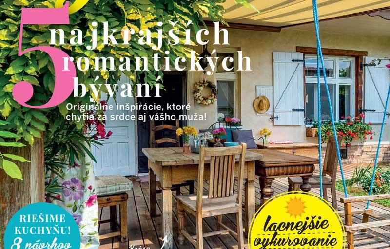 Najnovšie vydanie časopisu Pekné bývanie 09/2018 v predaji