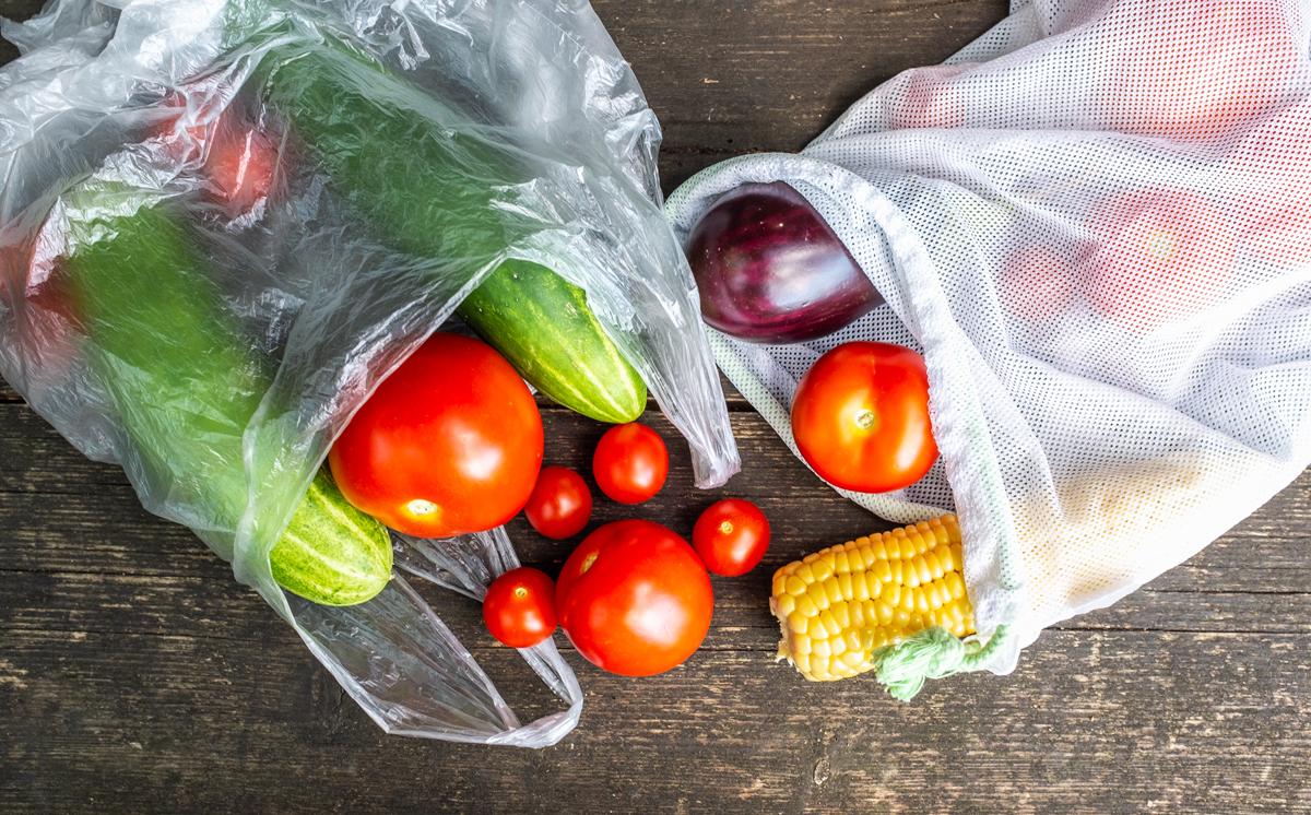 vrecká na zeleninu