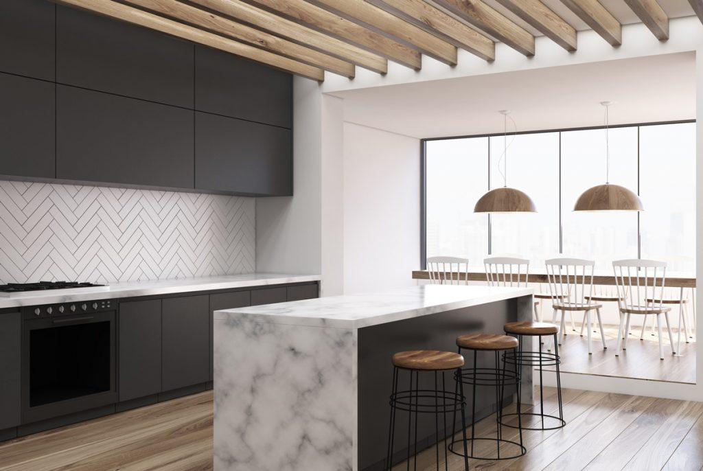 Aké sú trendy vúprave kuchynských stien?
