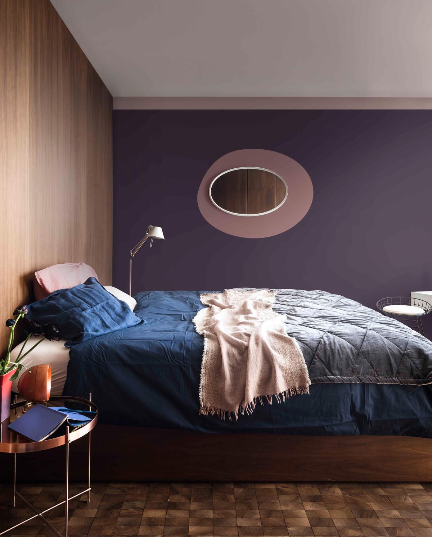 steny v spálni