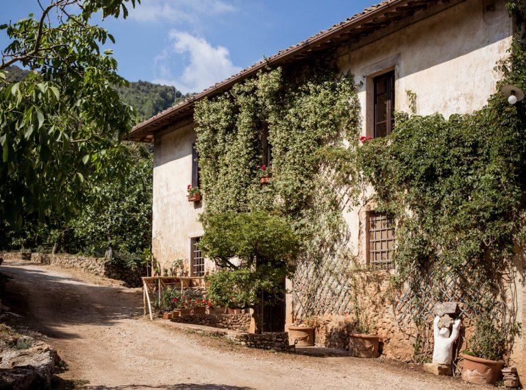 Vidiecky dom vToskánsku z13.storočia prerobili naagroturistický raj