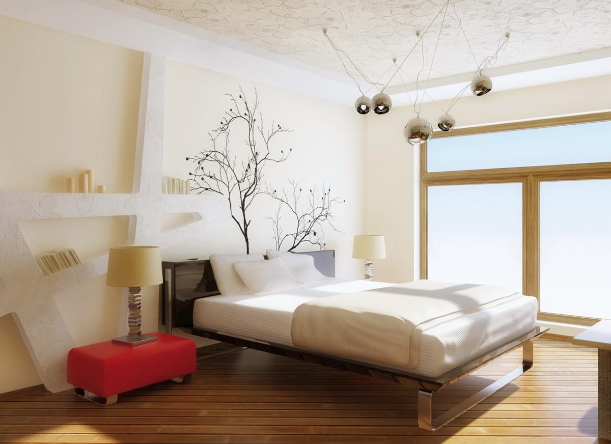 farby stien do spálne