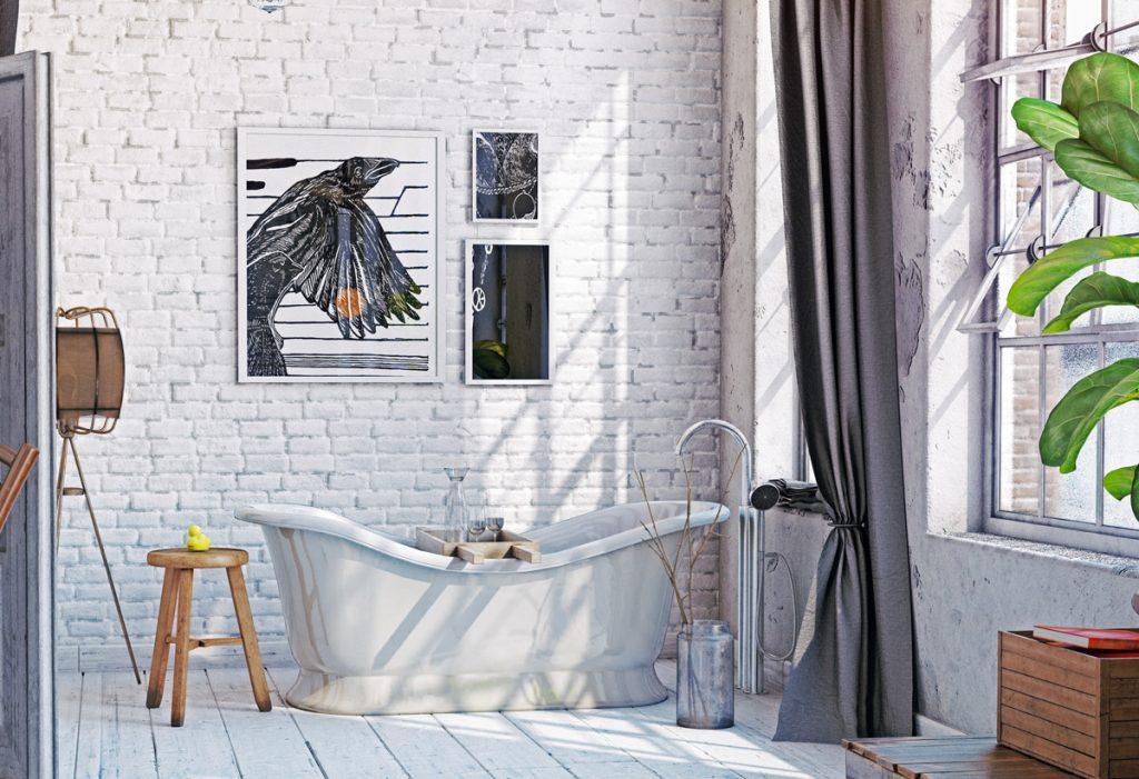 Poradňa: Ako zrekonštruovať kúpeľňu v storočnom dome a zachovať vidiecky štýl?