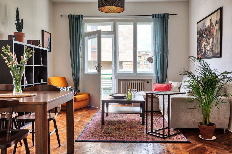 Nízkonákladová premena starého bytu v centre Bratislavy