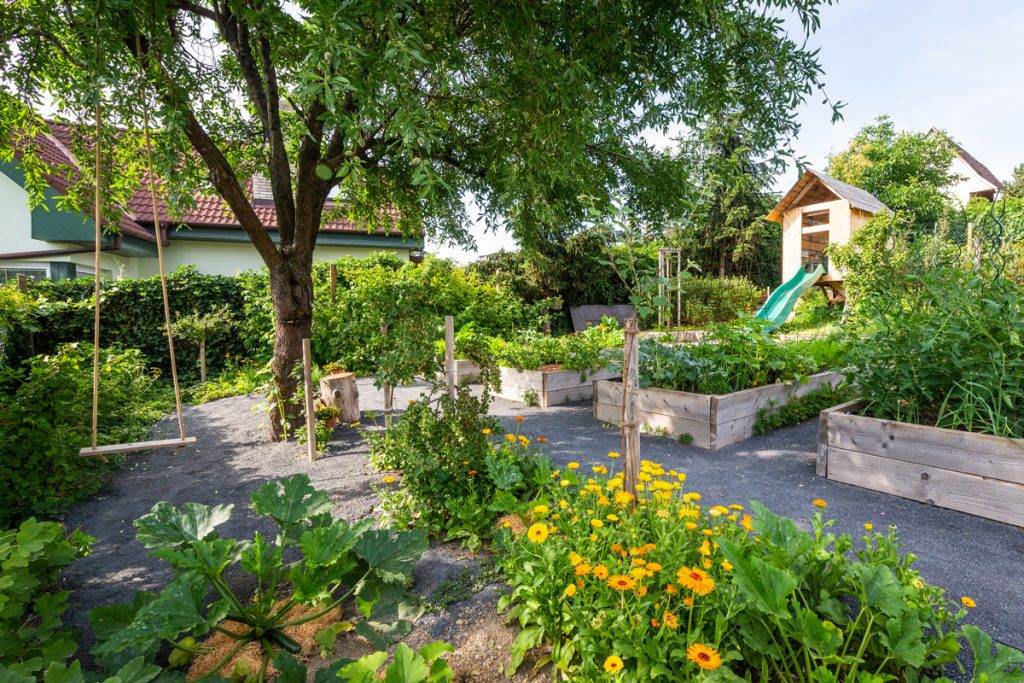 premena záhrady