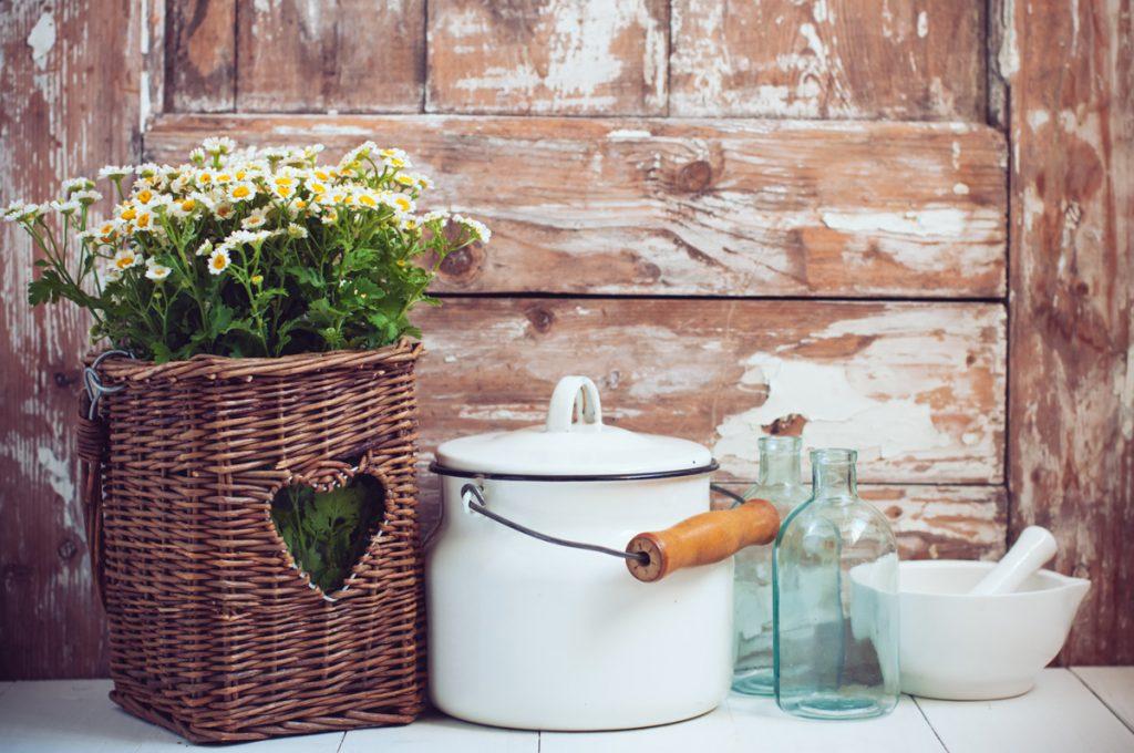 Zariaďte si bývanie v štýle vidieckej romantiky