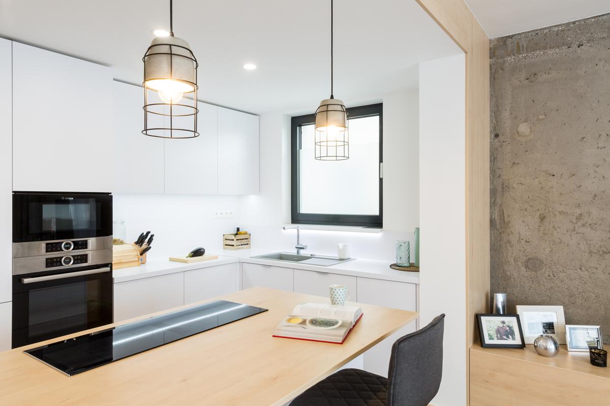 beton v interiéri