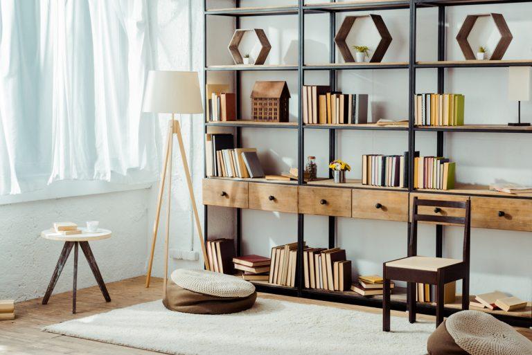 10 nápadov na knižnicu do interiéru
