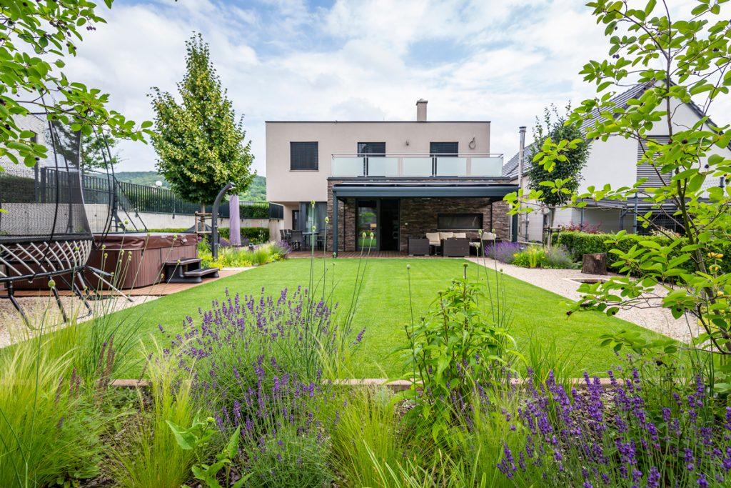 záhrada podľa architekta